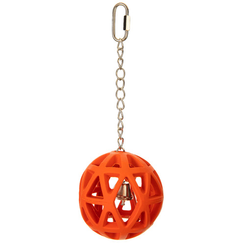 Parrot Essentials Jingle Ball Foraging Bird & Parrot Toy