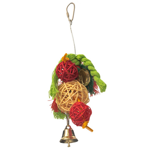 Vine Chew & Preen Stack Natural Parrot Toy - Small