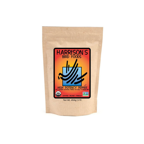 Harrison's High Potency Pepper Fine - 100% Organic Bird and Parrot Food