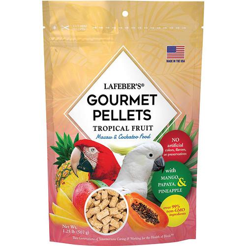 Lafeber Gourmet Pellets - Tropical Fruit - Macaw & Cockatoo Food