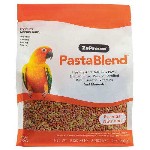 ZuPreem PastaBlend Medium - Complete Food for Cockatiels