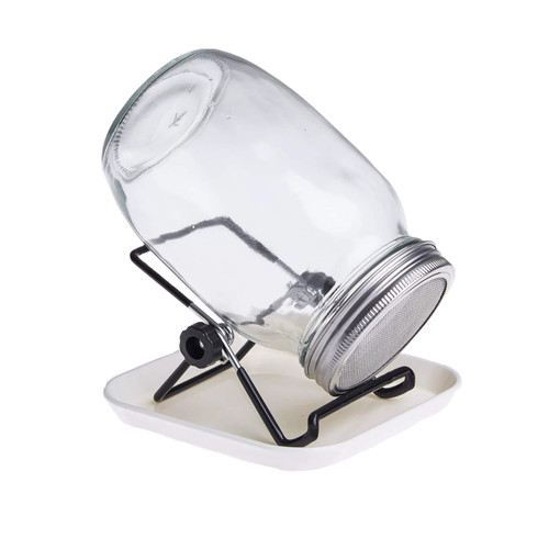 Parrot Seed Sprouting Jar with Stand