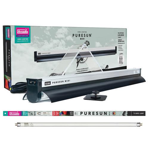 Arcadia PureSun Midi Bird UV Lighting Kit