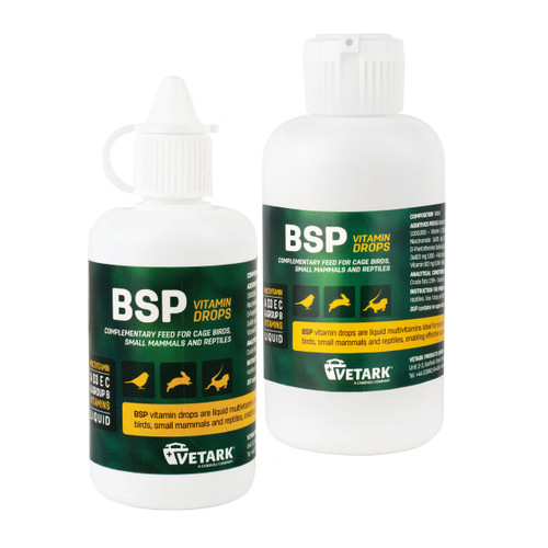 BSP Liquid Multi-Vitamin Drops for Parrots & Birds