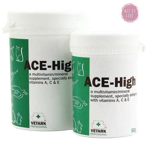 ACE-High Powdered Vitamin Supplement for Pet Parrots & Birds