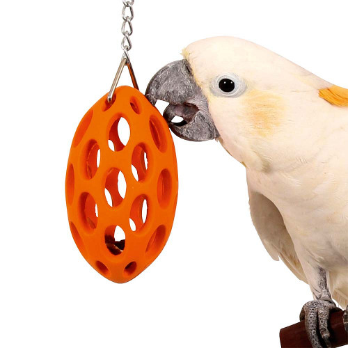 Nutcase - Bird Safe Rubber Foraging Toy for Parrots