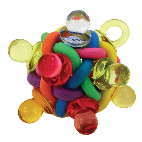 Binkies Ball Foot Toy for Parrots - Small Parrot Essentials