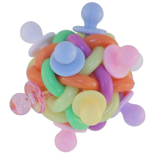 Binkies Ball Foot Toy for Parrots - Medium