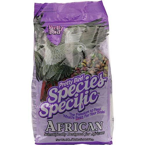 Pretty Bird African Grey Special Complete Parrot Food