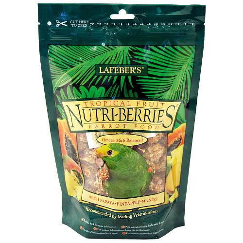 Lafeber NutriBerries Tropical Fruit Complete Parrot Food