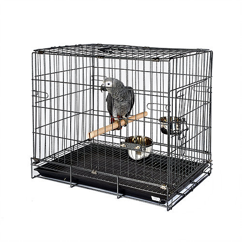 Antique Bird & Parrot Travel Cage - Large