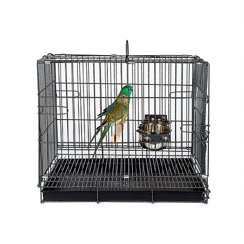 Antique Bird & Parrot Travel Cage - Medium