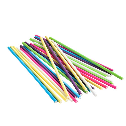 Paper Party Sticks Large - Parrot Foot Toys - Pack of 25