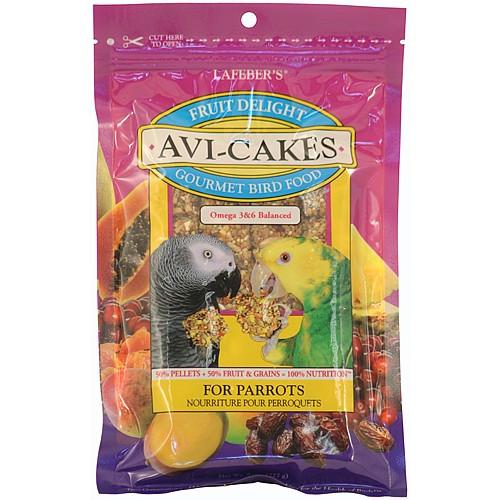 Lafeber Fruit Delight AviCakes for Parrots - 227g