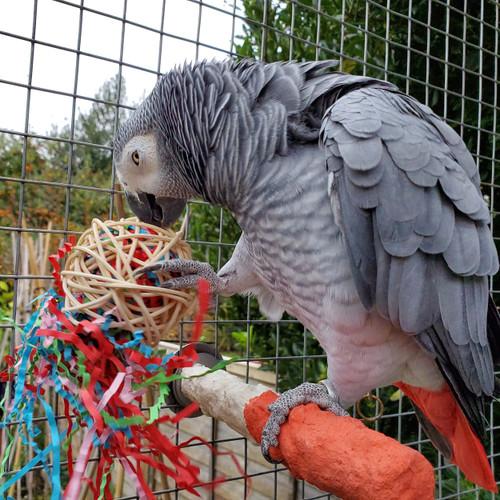 Fiesta Ball Stuffers Chew Parrot Toy - Pack of 3