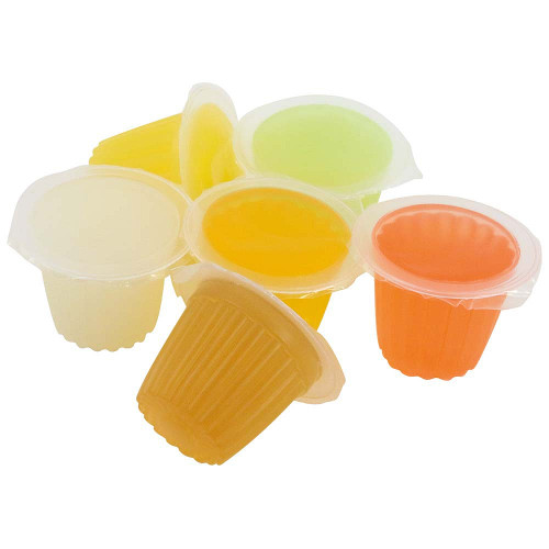 Assorted Fruit Cups Jelly Parrot Treats - Pack of 6