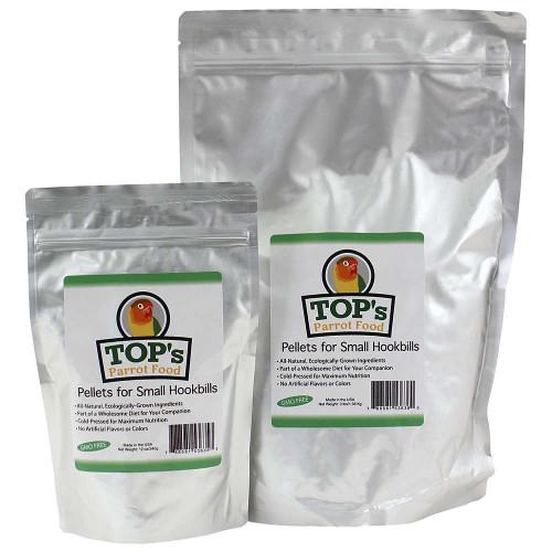 TOP's Parrot Food - Small Pellets