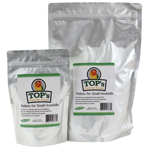 TOP's Parrot Food - Small Pellets