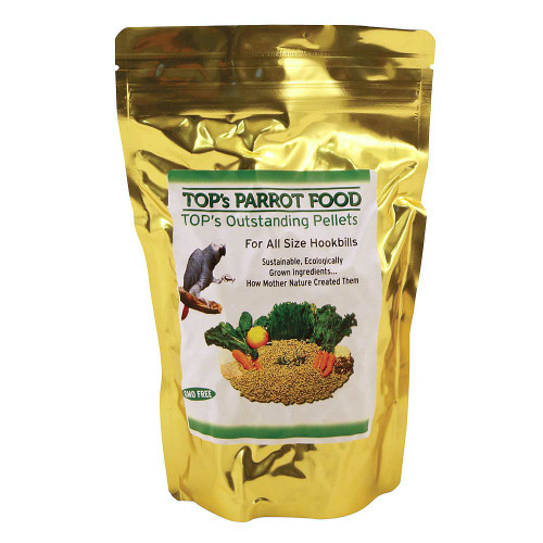 TOP's Outstanding Pellets Natural Parrot Food - Large