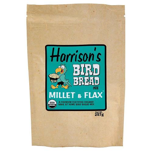 Harrison's Bird Bread Mix - Millet & Flax Organic Parrot Treat