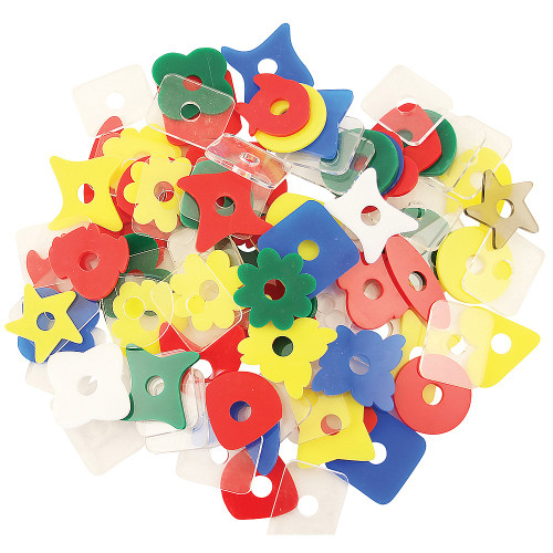 Acrylic Shapes Parrot Toy Making Parts - Pack of 20