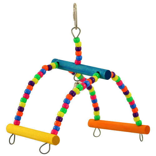 Rock & Roll Swinging  Seesaw Parrot Toy