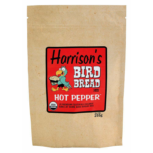 Harrison's Bird Bread Mix - Hot Pepper - Organic Parrot Treats