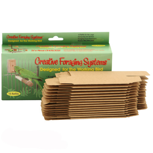 Creative Foraging Box - Pack of 15 Refills – Small
