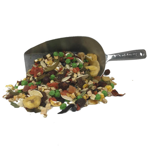 Parrot Delicatessen - Fruit & Veg Treat Mixture 300g