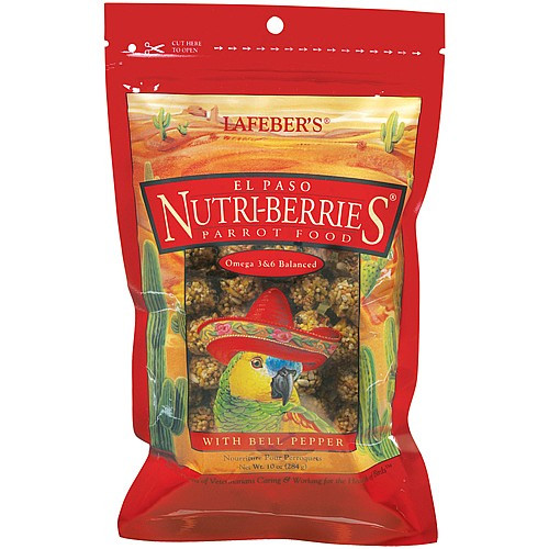 Lafeber NutriBerries El Paso Complete Parrot Food