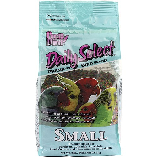 Pretty Bird Daily Select Small - Complete Parrot Food