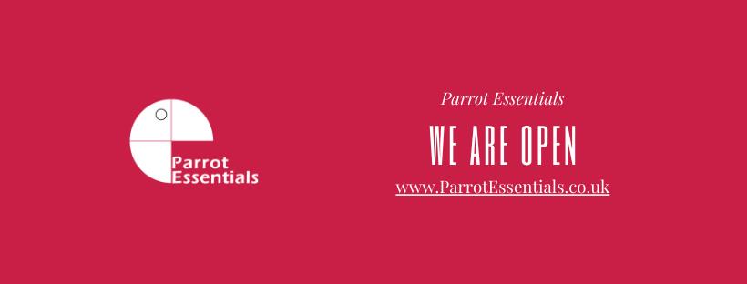 Parrot Essentials is Open