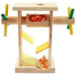 Treat Dispenser Machine Foraging Parrot Toy