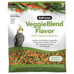 ZuPreem VeggieBlend Medium - Complete Parrot Food