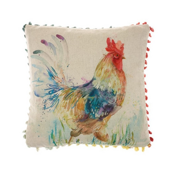 Voyage Maison Strutting Cockerel Arthouse Mini Cushion (AH16004)