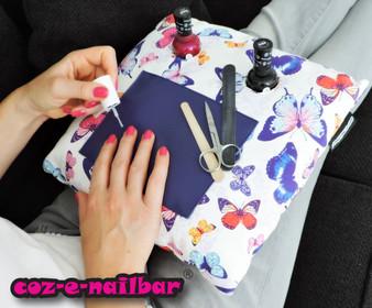 Coz-E-Nailbar Butterfly Design Manicure Cushion Set (NB1557)