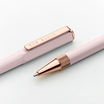 Ted Baker Pink Quartz Ballpoint Pen (TED275)