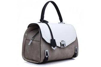 Bessie London Constrasting Panel Grab Bag