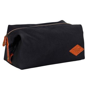 Mens Waxed Canvas Wash Bag (GEN073)