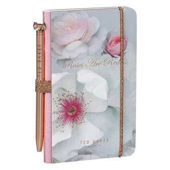 Ted Baker Chelsea Border Mini Notebook & Pen (TED945)