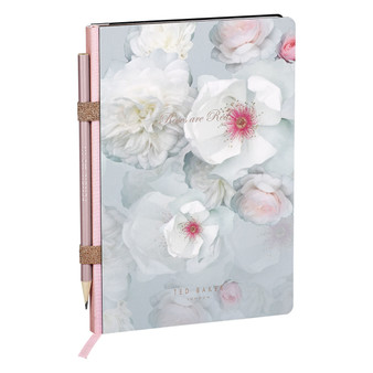 Ted Baker Chelsea Border Notebook & Pencil (TED939)