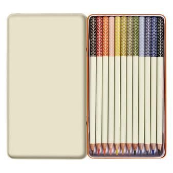 Orla Kiely Colouring Pencils - Linear Stem (OK111)