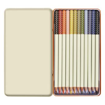 Orla Kiely Colouring Pencils - Linear Stem (OK111)