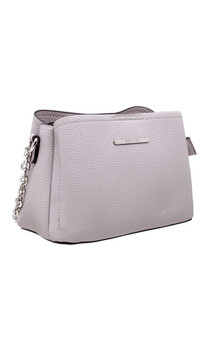 CLASSIC SMALL THREE COMPARTMENT CROSS BODY BAG