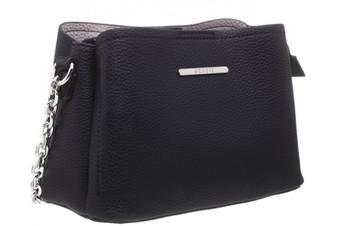 Classic Small Cross Body PU Bag - Black