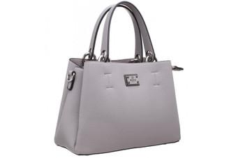 Classic Tote PU Bag - Grey