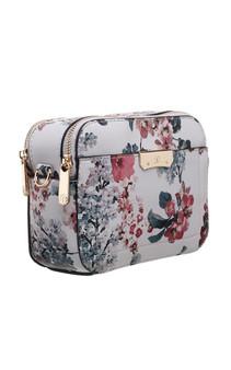 Floral Print Multiway Camera Bag - Red