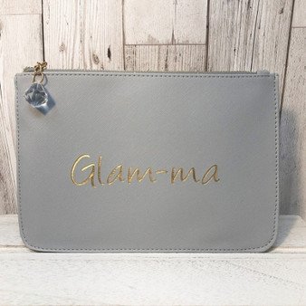 Glam-Ma clutch makeup bag