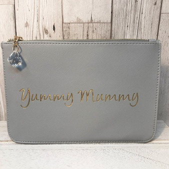 Yummy Mummy clutch makeup bag