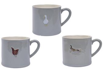 Rustic Stoneware Mug